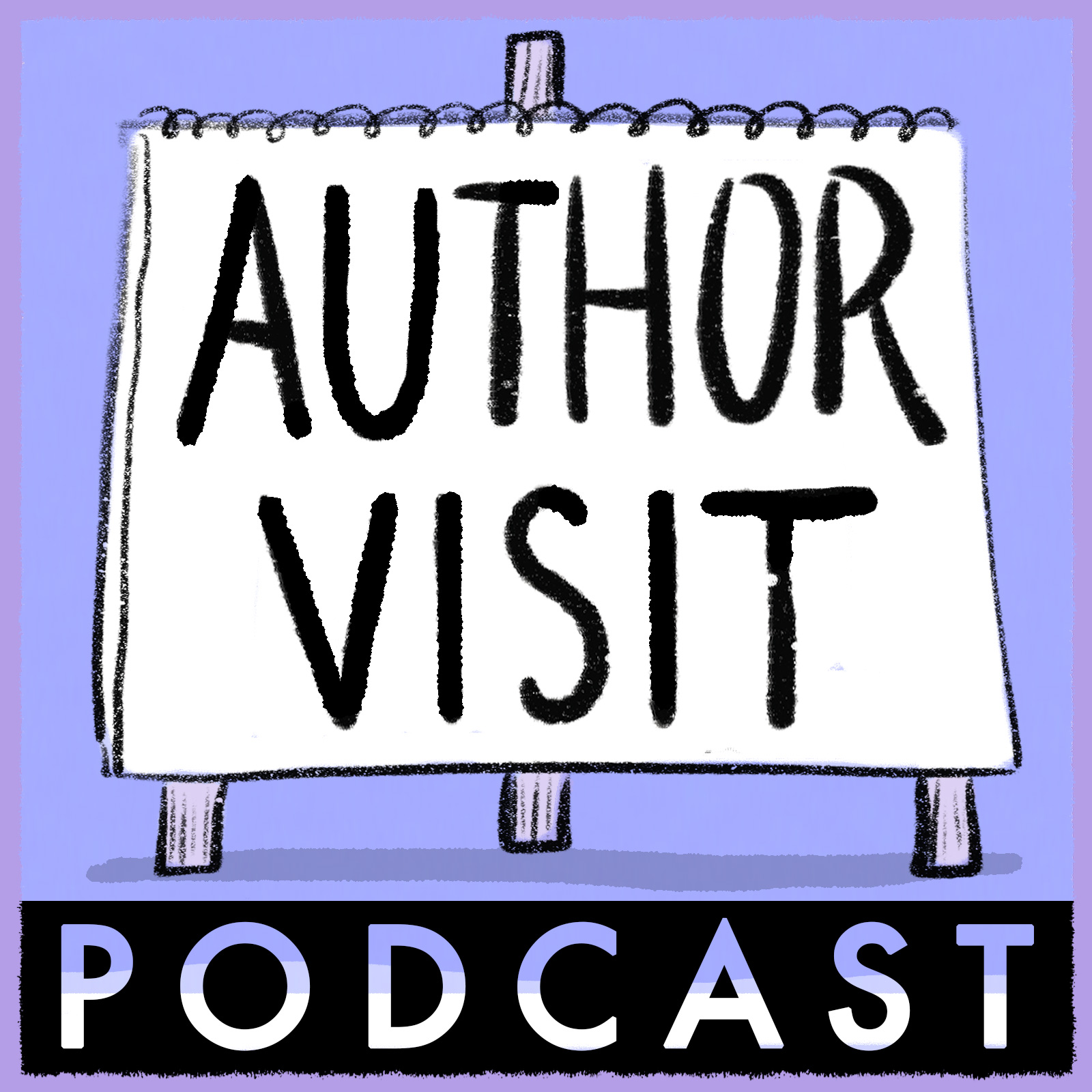 Author Visit Podcast logo